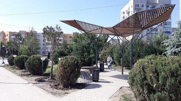 В волгоградском регионе завершён первый проект благоустройства-2021