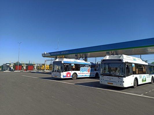 В Волгоградской области развивают газозаправочную инфраструктуру
