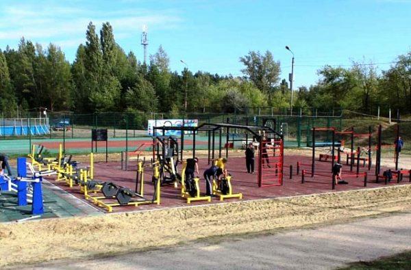 «Готов к труду и обороне»: в Волгоградской области построены ещё две спортивные площадки