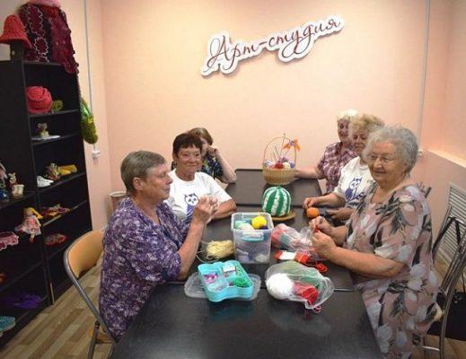 Открылся первый в регионе центр добровольчества и досуга для пожилых
