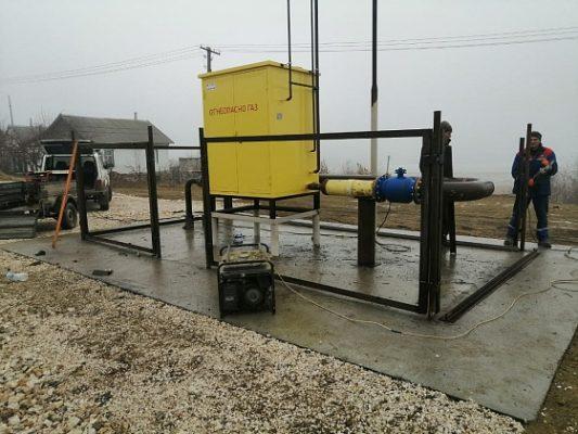 Газификация Волгоградской области: в Нижнем Чире стартовала подача голубого топлива жителям