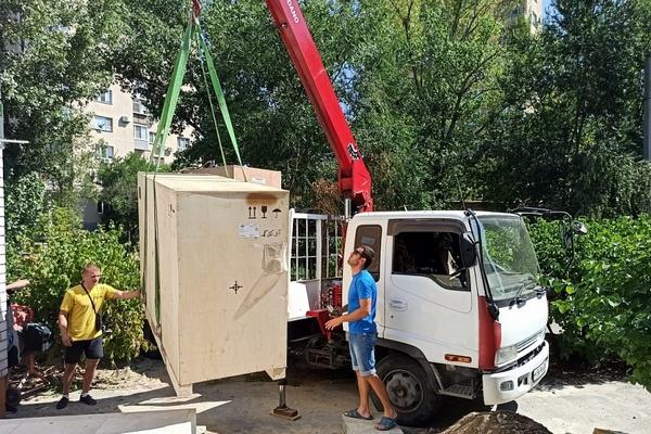 В волгоградский регион продолжает поступать техника для лечения COVID-19