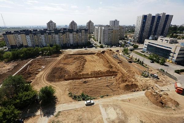 В Волгограде строят новый ФОК открытого типа
