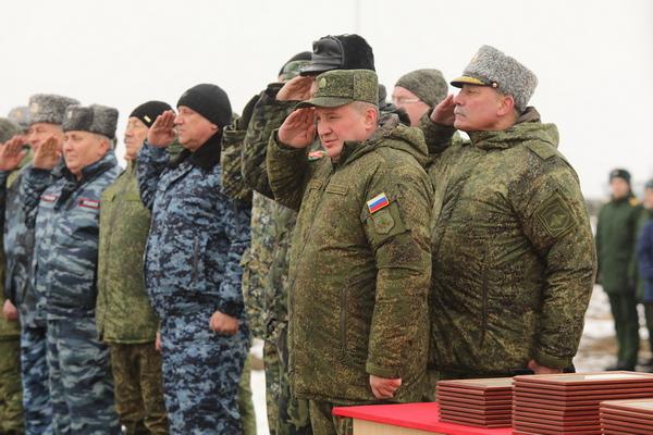Андрей Бочаров совместно с военными принял участие в полевом выезде