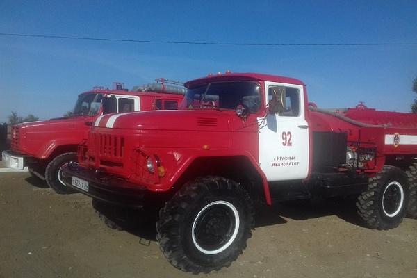 В Николаевском районе появилось новое подразделение противопожарной службы