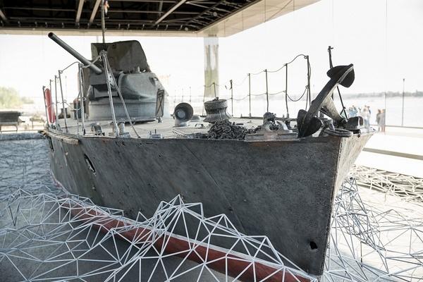 В сентябре в Волгограде откроется мемориальная экспозиция БК-31 на набережной