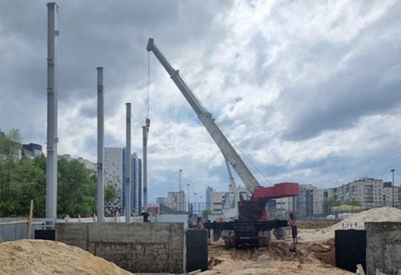 В Волгоградской области строят новые спортивные объекты