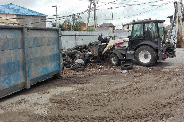 Более 550 покрышек за день отправили на переработку в Волгограде